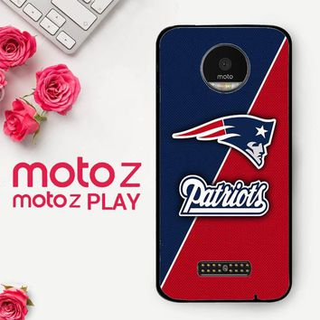 New England Patriots X4843  Motorola Moto Z Play Case