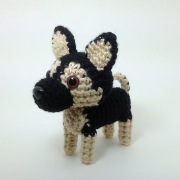 Stocking Stuffer German Shepherd Stuffed Animal Amigurumi Dog Crochet Puppy Doll / Made to Order