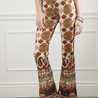 Raga LA Tribal Print Flared Pants
