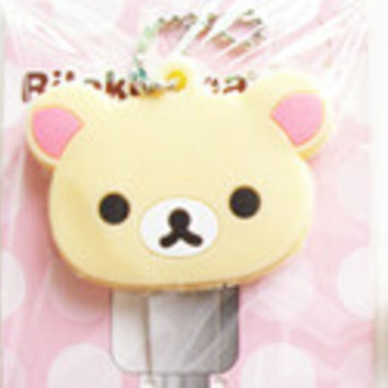 Cartoon Key Cap Cover/ Keychain / Charm Bear