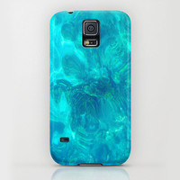 Apple iPhone case for iphone 5 iphone 5s iphone 5c iphone 4 iphone 4s iPhone 3gs Samsung Galaxy S5 Galaxy S4. Blue Opal Texture Phone Case.