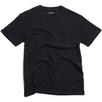 Black Facet Pocket T-Shirt Black