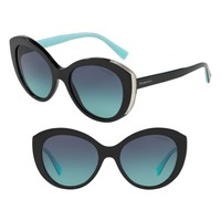 Tiffany & Co. Diamond Point 54mm Gradient Round Sunglasses | Nordstrom