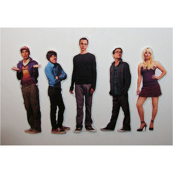 The Big Bang Theory magnet set