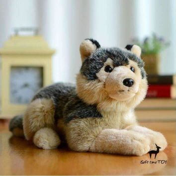 Coyote Stuffed Animal Plush Toy 8""