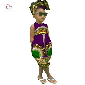 african-clothing-for-children dashiki Traditional cotton set Matching