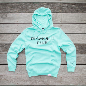 Diamond Supply Co. Pullover Hoody - 'Tiffany Blue'
