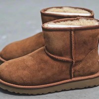 Men's UGG warm cotton shoes men's shoes _1686248855-104