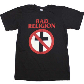 Bad Religion Distressed Crossbuster T Shirt