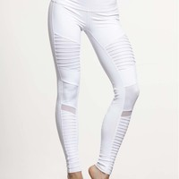 Moto Legging by ALO YOGA - BOTTOMS & LEGGING