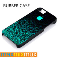 Mint Sparkle iPhone 4/4S, 5/5S, 5C, 6/6 Plus Series Rubber Case