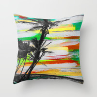 Mayaro Memories Throw Pillow by Sophia Buddenhagen