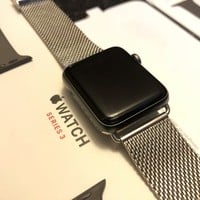 Apple Watch Series 3 42mm 3G/GPS Cellular Space Black Stainless Steel Case