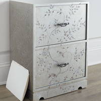 NM EXCLUSIVE Floral Bird File Box