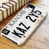 Supernatural License Plate iPhone 6 Case