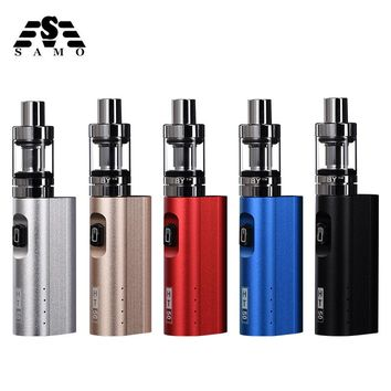 Original HT 50 electronic cigarette vaporizer kit 2200mah 50w e cigarette box mod 510 thread 2.0ML tank e-cigarette vape pen kit