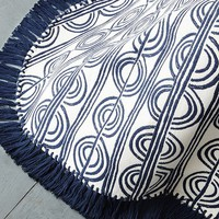 Circle Stripe Bedspread
