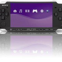 Sony PlayStation Portable (PSP 3000) Console - Piano Black (Pre-owned)
