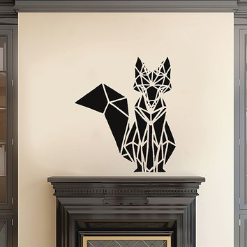 ik2951 Wall Decal Sticker animal fox living room bedroom