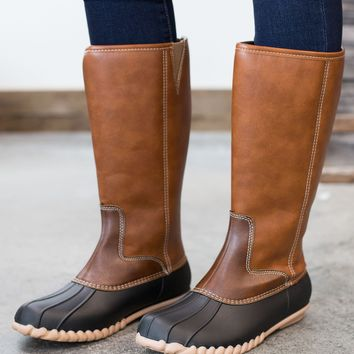 The Donna Duck Boot - 2 Options