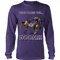LSU Tigers Here Comes The Boom Long Sleeve Shirt