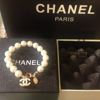 Chanel Pearl Women Bracelet Little Pearl