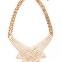 Plus Size Crossing Arrows Necklace | Fashion To Figure