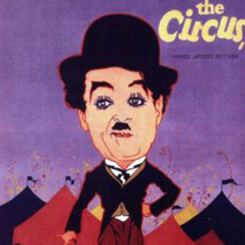 The Circus Charlie Chaplin Vintage Movie Poster