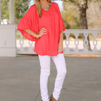 The Calista Top, Coral
