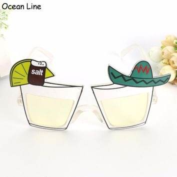 Mexican Drink Funny Party Sunglasses
