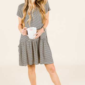 Drop Pocket Dress