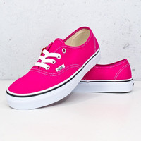 Vans Authentic-Rogue Red/Tru Wht
