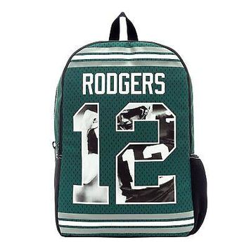 NFLPA All American Aaron Rodgers #12 Backpack
