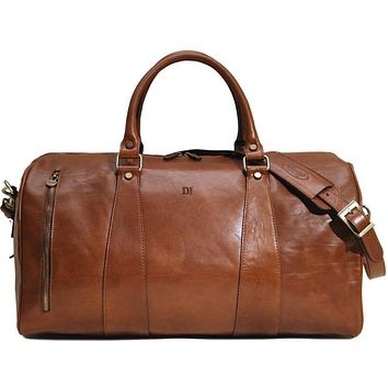 Personalize FC Duffle in French Calfskin