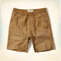 Hollister Twill Jogger Shorts