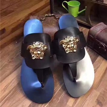 Versace Lover Fashion Casual Slippers