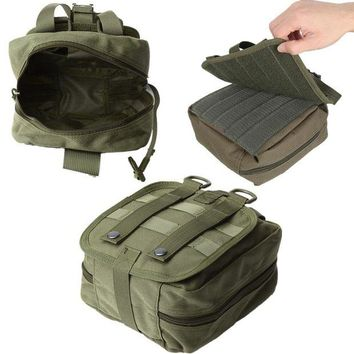 ONETOW NEW Empty Bag Tactical Medical First Aid Utility Pouch Emergency Bag For Vest & Belt Treatment Pack Outdoor