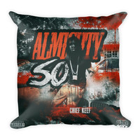 Almighty So (16x16) All Over Print/Dye Sublimation Chief Keef Couch Throw Pillow Insert & Pillow Case/Cover