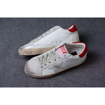 GGDB / Golden Goose Deluxe Brand Uomo / Donna Superstar Red Sneakers
