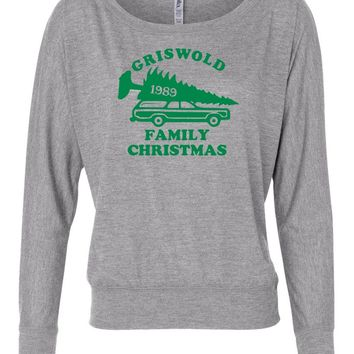 Griswold Christmas Vacation Womens Long Sleeve Shirt