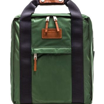 Jack Spade Pilot Nylon Lift Pack in Green