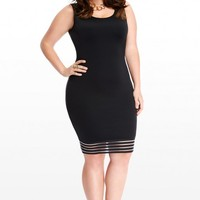 Plus Size Kiernan Scuba Bodycon Dress | Fashion To Figure