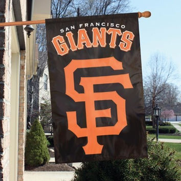 Party Animal AFSFG SF Giants Applique Banner Flag