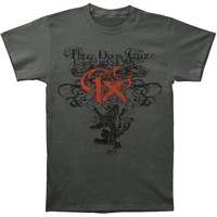 Three Days Grace Men's  Three Days Grace IX T-shirt Grey