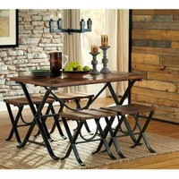 Freimore 5-Piece Dining Set | Nebraska Furniture Mart