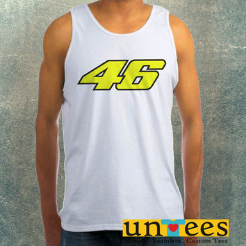 Valentino Rossi 46 Clothing Tank Top For Mens