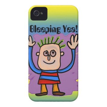 Bleeping Yea! Case-Mate iPhone 4 Case