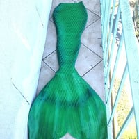 Basic Custom Realistic Latex Mermaid Tails