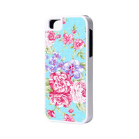 Floral Pattern Phone 6 Plus 6 5S 5 5C 4 Rubber Case