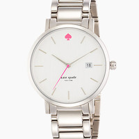 Kate Spade Gramercy Grand Watch Stainless Steel ONE